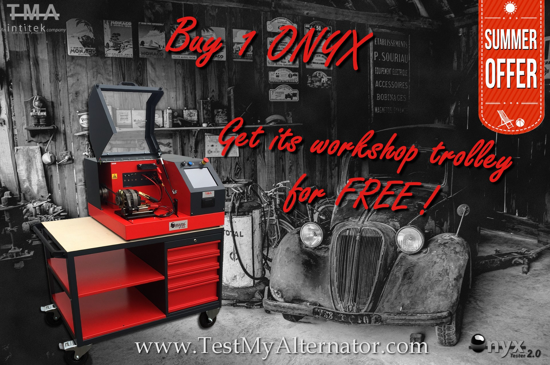 Buy ONYX Get workshop trolley